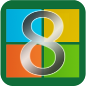 App Icon: Windows 8 for Android 1.7