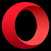 App Icon: Opera-Browser: schnell, sicher Variiert je nach Gerät