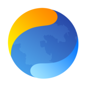 App Icon: Mercury Web Browser - Easy Search with Google, Youtube, Wikipedia and DuckDuckGo 8.7.2