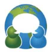 App Icon: SpeechTrans Ultimate Assistant & Travel Voice Speak Translator free with live interpreters 5.17