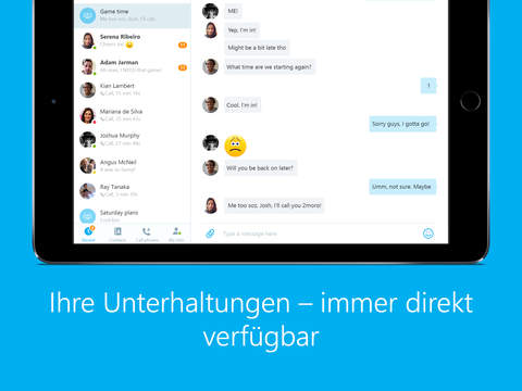 how to set up skype video on ipad