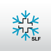 App Icon: White Risk - SLF Lawinen-App 2.3