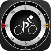 App Icon: Bike CycloComputer HUD - gps, odometer, altimeter, inclinometer and maps computer for your bike 1.8