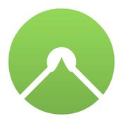App Icon: komoot - Fahrrad & Outdoor Routenplaner für deine Wanderung, Mountainbike Routen und Rennrad Touren 7.3.1