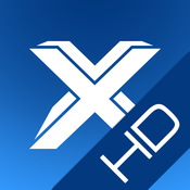 App Icon: CineXPlayer HD = The best way to enjoy your Movies 4.0