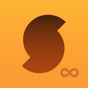 App Icon: SoundHound ∞ + LiveLyrics   Musik suchen und hören, Lieder und Songtexte spielen 7.0.1