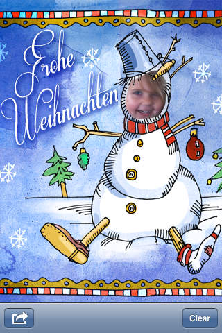 Weihnachtskarten festliche gru karten selbst erstellen - Weihnachtskarten erstellen ...