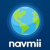 App Icon: Navmii GPS Norwegen: Navigation, Karten und Verkehr (Navfree GPS) 3.5.2