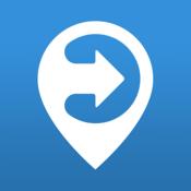 App Icon: ally: Stadtrouten von A nach B
