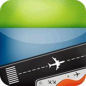 App Icon: Flughäfen in Deutschland - alle Flughäfen und Flüge in Deutschland -Flugstatus doppelte Überprüfung -radar 8.0