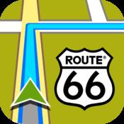 App Icon: ROUTE 66 Navigate
