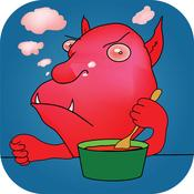 App Icon: Monsters Behave! Innovative Sprachförderung durch Kindergedichte, Kinderreime und Wortspiele 2.1.2
