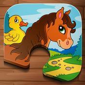 App Icon: Tier Puzzle für Kinder & Kleinkinder 2.9.1