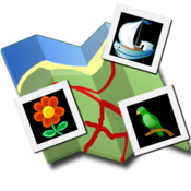 App Icon: Instamap (Instagram on a map)