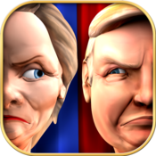 App Icon: Bash the Vote Trump vs Clinton