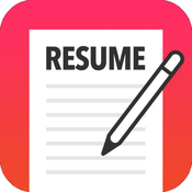 App Icon: Resume Mobile Pro - design & share professional PDF resume on the go 3.9.9