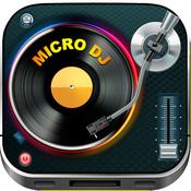App Icon: Mikro DJ Free - Partymusik Audioeffekte und mp3 Liederbearbeitung 3.1