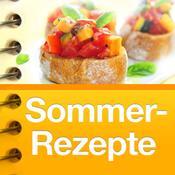 App Icon: Sommer-Rezepte - So schmeckt der Sommer! (111 Rezepte: Grillen, Snacks, Salate, Desserts, Kuchen, Cocktails ...) 1.2