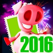 App Icon: Silvester - Grüße: Frohes Neujahr 2016 1.8