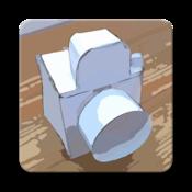App Icon: Papier Kamera