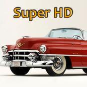 App Icon: Oldtimer Super HD (für den neuen iPad) – Hintergründe für den iPad 2.3