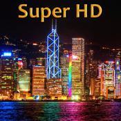 App Icon: Städte bei Nacht Super HD (für den neuen iPad) - Wallpaper für dem iPad 2.1