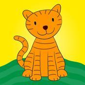 App Icon: Die wilden Tiere - Lustige Lernspiele für Kinder 3.6