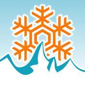 App Icon: Schneehöhen.de - Schneebericht und Schnee-Wetter für Skigebiete in Deutschland, Österreich, Schweiz und weltweit - Infos zu Skipass, Skiurlaub und Hotels 5.0.3