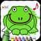 Ausmalbuch für Kinder (von Happy-Touch Kindergarten Apps)