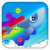 App Icon: Whale Trail Frenzy