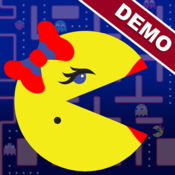 App Icon: Ms. PAC-MAN Demo by Namco