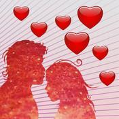 App Icon: Liebe für unterwegs - Die schönsten Liebessprüche, Zitate und Liebesgedichte für meinen Schatz 2.0