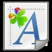 App Icon: GO Launcher Schriftarten