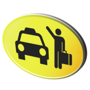 App Icon: cab4me Taxisuche