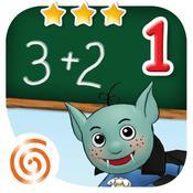 App Icon: Mathe Klasse 1 - Lernerfolg Grundschule - Addieren, Subtrahieren und Zahlen zerlegen für Kinder der Klassenstufe 1 2.4