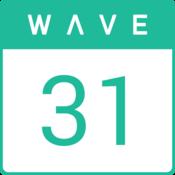 App Icon: WAVE Kalender
