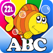 App Icon: Kids Animal Word Puzzles