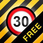 App Icon: i SpeedCam Free: GPS Radar und Blitzer- Warner für iPhone 2.3.5
