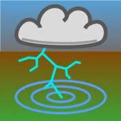 App Icon: Blitzortung Gewitter-Monitor