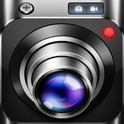 App Icon: Top Camera for iPad - photo / video app with HDR, slow shutter, folders and editor 4.9