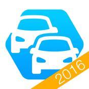 App Icon: Bußgeldrechner Pro 2016 + Bußgeldkatalog 4.2