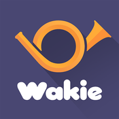 App Icon: Wakie: Talk to Strangers, Chat