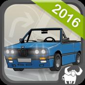 App Icon: Auto Führerschein 2016 (Kl. B)