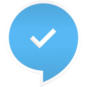 App Icon: SMS Blocker. Clean Inbox