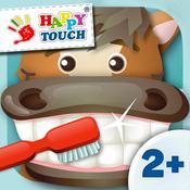 App Icon: Alles sauber? Zähne putzen (lernen) mit Tieren für Kinder (von Happy-Touch®) 2.0