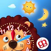 App Icon: Interaktiv die Uhr Lesen Lernen - macht Spaß 3.5
