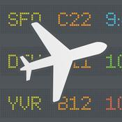 App Icon: FlightBoard – Echtzeitstatus von Abflug- und Ankunftszeiten 1.4.5