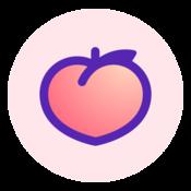 App Icon: Peach — share vividly