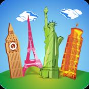 App Icon: Geografie Quiz auf Deutsch