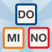 App Icon: Wort Domino - Wortspiel
